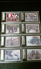 Famous Fabric Horrors of War series 1 & 2 - 88 BASE CARD COMPLETE UNIQUE # SET