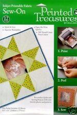 Printed Treasures Fabric Sheets - 12 Pack