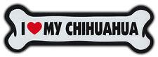 Giant Size! Dog Bone Magnet: I Love My Chihuahua | Cars, Trucks, Refrigerators