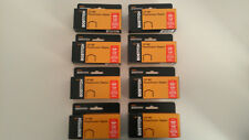 """Lot of 8 boxes of Stanley Bostitch B8 Power Crown Staples 1/4"""" for B8 stapler"""