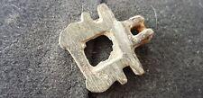 Superb Bronze Roman casket clasp uncleaned con. please read Provenance BL. L58s