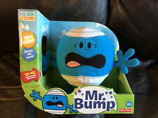 Mr Bump Phrases & Sounds Squeeze Belly Plush Fisher Price Mr Men Little Miss