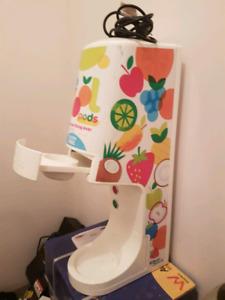 One shot icecream machine
