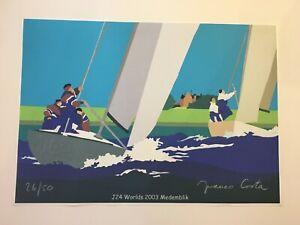 Franco Costa - J24 Worlds 2003 Medemblik - Exhibition Offset Poster