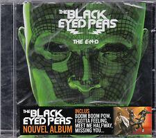CD 16T THE BLACK EYED PEAS THE E.N.D (THE END) 2009 NEUF SCELLE FRENCH STICKER