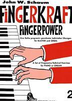 Klavier Noten : SCHAUM Fingerkraft Heft 2 Fingerpower leicht - BOE 3571