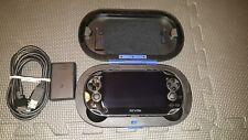 Sony PS Vita PCH-1101 Black 3.60 HENkaku 8GB Card Hard Case 3G OLED Playstation