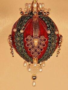"""Victorian Style Christmas Tree Ornaments - """"Gwynneth"""""""
