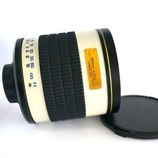 500mm f/6.3 Mirror Lens for M4/3 Mount Cam Panasonic GH1 GH2 GH3 MFT GH4 BMPCC