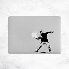 Banksy Decal for Macbook Pro Sticker Vinyl flower thrower air mac 13 15 laptop