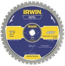 "NEW IRWIN 4935555 7 1/4"" X 48 TPI MC FERROUS STEEL CARBIDE CIRCULAR SAW BLADE"