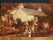 DOVE COTTAGE GRASMERE POSTCARD c1910