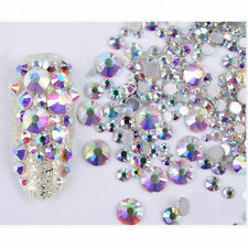 3g Mixed 3D Nail Art Rhinestones Glitters Acrylic Tips Decoration