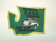 Vintage Washington B.A.S.S. Federation State Team Championship