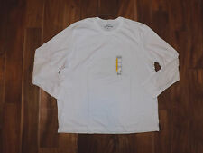 NEW Mens EDDIE BAUER White Long Sleeve Shirt Size XL