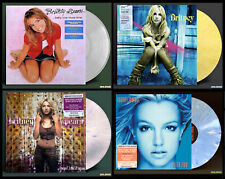 BRITNEY SPEARS Four LPs on COLOR VINYL Oops/Baby One More Time/In The Zone+1