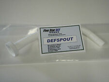 TWO PACK of Diesel Exhaust Fluid DEFSPOUT by Five Star DEF