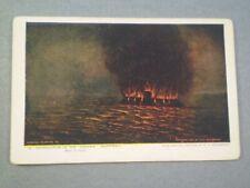1907 Jamestown Exposition CIVIL WAR Naval  Battle  KROEGER PIANOS Bridgeport CT