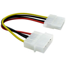 Cavo DI PROLUNGA 12 cm molex 4 PIN 5.25 maschio A IDE PSU INTERNO Donna PC Power