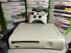 Xbox 360 White Console Bundle Controller Cables HDD 5 Video Games Microsoft