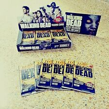 WALKING DEAD SEASON 1 PACK OF TRADING CARDS, RARE, 1/1 ON EBAY NEW AND SEALED