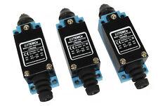 3 Pcs Temco Plunger Limit Switch Nc No Cnc Mill Plasma Router Lathe Home