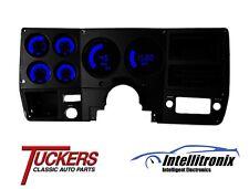 19 73 87 Chevy Truck Led Digital Bargragh Gauge Panel Intellitronix Blue BG6004B