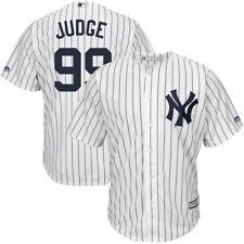 Youth NewYork Yankees A. Judge Majestic WhiteCool Base Player Rep Jersey- MEDIUM
