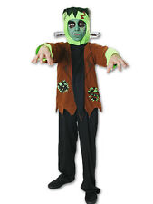 CHILDS FRANKENSTEIN MONSTER HALLOWEEN FANCY DRESS COSTUME AGE 7-9YRS V00 222