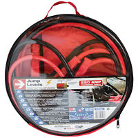 Sumex 12v & 24v 3M 220A Jump Start Starter Booster Cable Lead -Up to 2.5L Petrol