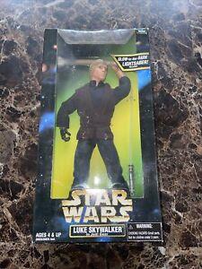 """KENNER STAR WARSS 12"""" LUKE SKYWALKER IN JEDI GEAR ACTION FIGURE NEW/UNOPENED"""