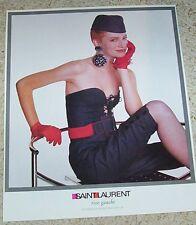 1987 print ad - YSL Yves Saint Laurent RIVE GAUCHE fashions  advertising ADVERT
