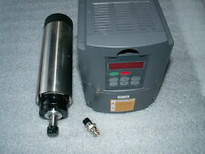 Refroidissement par air 1,5 kw ER11 CNC spindle motor+inverter vfd +65 mm Pince Support de montage