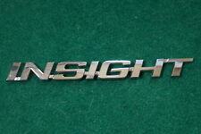 2010 Honda INSIGHT Rear Chrome Plastic Emblem NICE SHINE