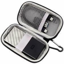 co2CREA Voyage stockage /étui pour WD My Passport SSD 256 GB 500 GB 1 TB Disque SSD portable