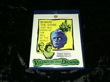 Village of the Damned (Blu-ray, 2018) Warner Archive Cult '60 UK/Sanders Horror!