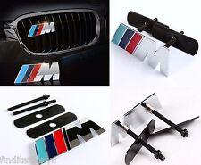 3D BMW M power Grill Front grill Metal Emblem Badge Decal Logo Car Auto M3 M4 M5
