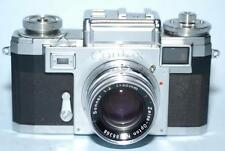 Contax IIIa Color Dial with 50mm f2 Carl Zeiss Sonnar lens - CLA'd - Nice Ex++!