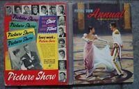 PICTURE SHOW ANNUAL 1958 VINTAGE CINEMA BOOK ELVIS PRESLEY BRIGITTE BARDOT etc
