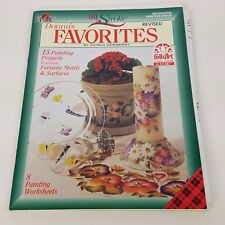 DECORATIVE PAINTING PATTERN BOOK ONE STROKE DONNA'S FAVORITES