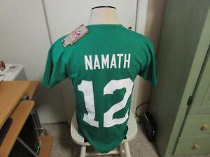 Joe Namath New York Jets Mitchell & Ness T-shirt nwt