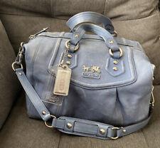 COACH MADISON AUDREY Convertible Shoulder Handbag Hobo Purse Distressed Leather