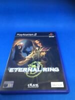 ETERNAL RING SONY PS2~ FIRST-PERSON ACTION RPG ~ COMPLETE With Manual