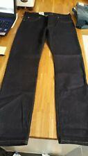 """LEE 101 RIDER DRY SLIM DARK WASH JEANS - 32"""" WAIST, 32"""" LEG - DARK BLUE - BNWT"""
