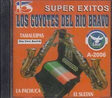 Los Coyotes De Rio Bravo 15 Super Exitos CD New Nuevo Sealed