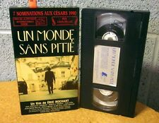 UN MONDE SANS PITIE Love Without Pity 1989 Mireille Perrier VHS comedy French
