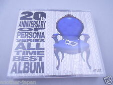 PERSONA 5 20th Anniversary Edition All Time Best Album CD 5 Disc from Japan F/S
