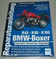 Reparaturanleitung BMW Boxer R 65 R 80 R 100 Enduro Motorrad 1980-1996 Buch NEU!