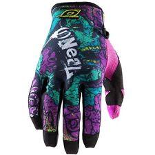 ONEAL O'NEAL JUMP motocross gloves ZOMBIE NEON mens sz 11 XL  MX ATV  0385-931