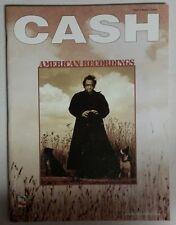 JOHNNY CASH AMERICAN RECORDINGS SONGBOOK PIANO VOCAL GUITAR MUSIC BOOK NO TAB